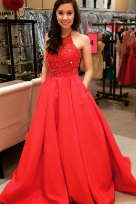 New Arrival Beading A-Line Prom Dresses,Long Prom Dresses,Green Prom Dresses, Evening Dress Prom Gowns, Formal Women Dress,Prom Dress,C649