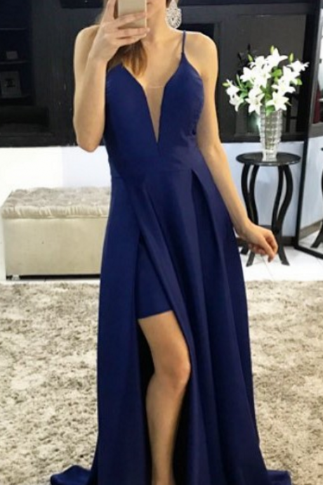 Sexy Spaghetti Straps A-Line Prom Dresses,Long Prom Dresses,Green Prom Dresses, Evening Dress Prom Gowns, Formal Women Dress,Prom Dress,C666