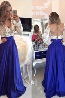 O-Neck A-Line Prom Dresses,Long Prom Dresses,Cheap Prom Dresses, Evening Dress Prom Gowns, Formal Women Dress,Prom Dress,C79