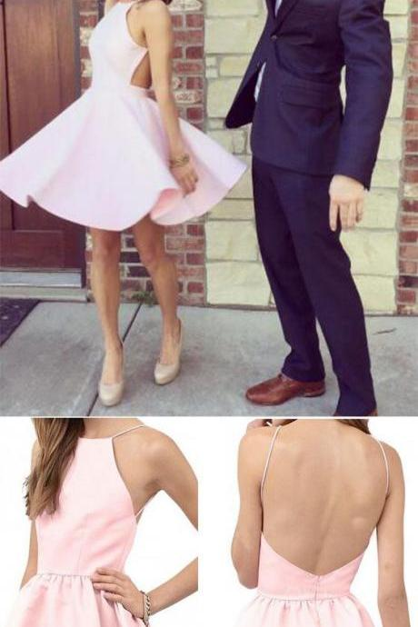 Spaghetti Straps A-Line Homecoming Dresses,Short Prom Dresses,Cheap Homecoming Dresses, Graduation Dress, Formal Women Dress,Homecoming Dress,C91