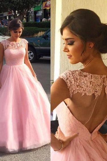 O-Neck Appliques A-Line Prom Dresses,Long Prom Dresses,Cheap Prom Dresses, Evening Dress Prom Gowns, Formal Women Dress,Prom Dress,C320